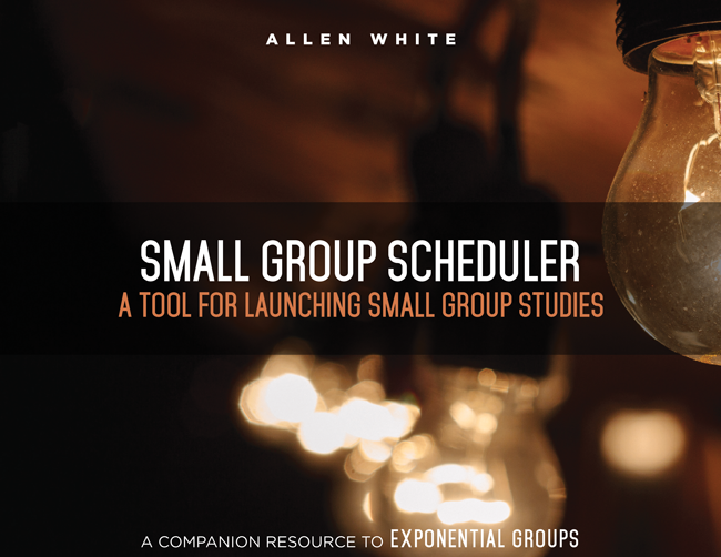 Small Group Scheduler: A Tool for Launching Small Group Studies